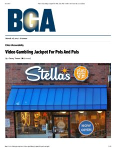 thumbnail of Video Gambling Jackpot For Pols And Pals _ Better Government Association